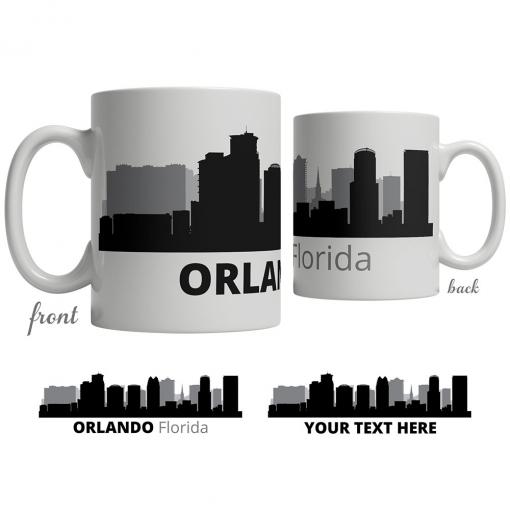 Orlando Skyline Coffee Mug