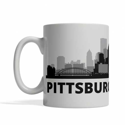 Pittsburgh Personalized Coffee Cup