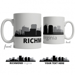 Richmond Skyline Coffee Mug