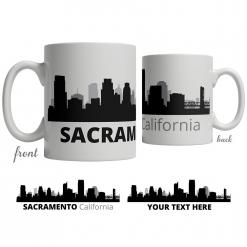 Sacramento Skyline Coffee Mug