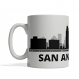 San Antonio Personalized Coffee Cup