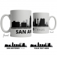 San Antonio Skyline Coffee Mug