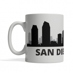 San Diego Personalized Coffee Cup