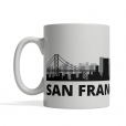 San Francisco Personalized Coffee Cup