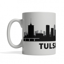 Tulsa Personalized Coffee Cup