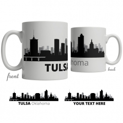 Tulsa Skyline Coffee Mug