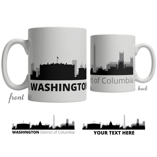 Washington Skyline Coffee Mug