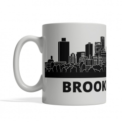 Brooklyn Personalized Coffee Cup