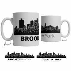 Brooklyn Skyline Coffee Mug