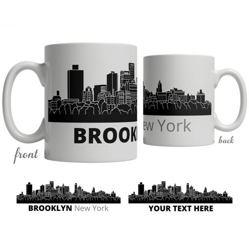 Brooklyn Skyline Coffee Mug