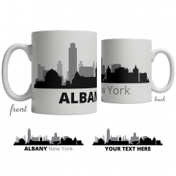 Albany Skyline Coffee Mug