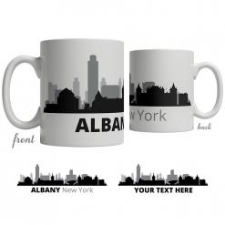 Albany Skyline Coffee Mug