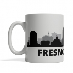 Fresno Personalized Coffee Cup