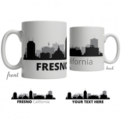 Fresno Skyline Coffee Mug