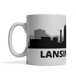 Lansing Personalized Coffee Cup
