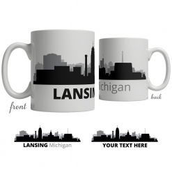 Lansing Skyline Coffee Mug