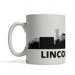 Lincoln Personalized Coffee Cup