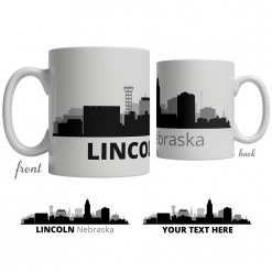 Lincoln Skyline Coffee Mug