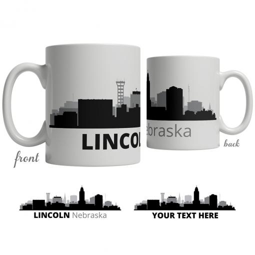 Lincoln Skyline Coffee Mug