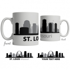 St. Louis Skyline Coffee Mug
