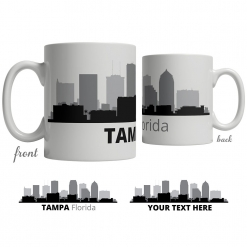 Tampa Skyline Coffee Mug