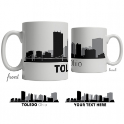 Toledo Skyline Coffee Mug