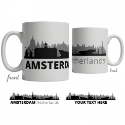 Amsterdam Skyline Coffee Mug
