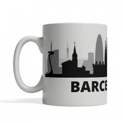 Barcelona Personalized Coffee Cup