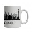 Barcelona Cityscape Mug