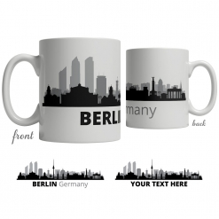 Berlin Skyline Coffee Mug