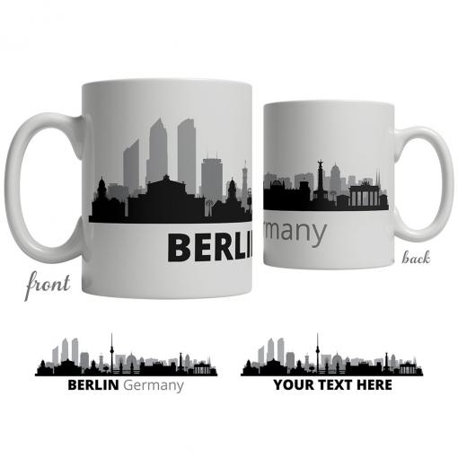 Berlin Skyline Coffee Mug