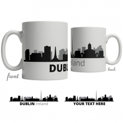 Dublin Skyline Coffee Mug