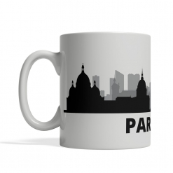 Paris Personalized Coffee Cup