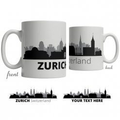 Zurich Skyline Coffee Mug