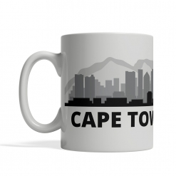 Cape Town Personalized Coffee Cup