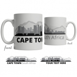 Cape Town Skyline Coffee Mug
