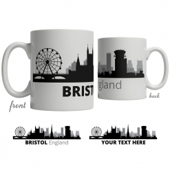 Bristol Skyline Coffee Mug