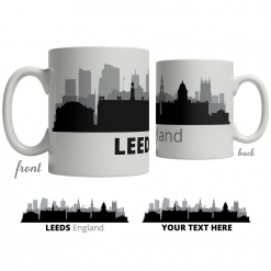 Leeds Skyline Coffee Mug