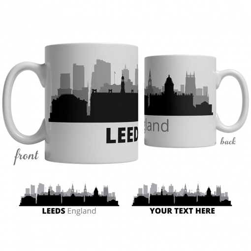 Leeds Skyline Coffee Mug