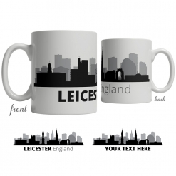 Leicester Skyline Coffee Mug