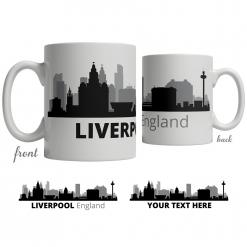 Liverpool Skyline Coffee Mug