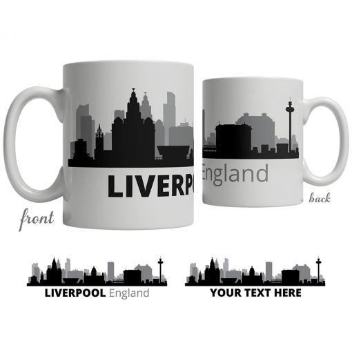 Liverpool Skyline Coffee Mug