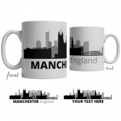 Manchester Skyline Coffee Mug