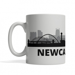 Newcastle Personalized Coffee Cup