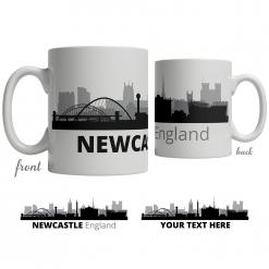 Newcastle Skyline Coffee Mug