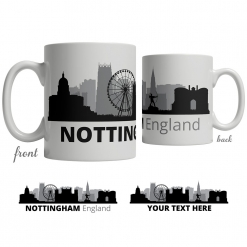 Nottingham Skyline Coffee Mug