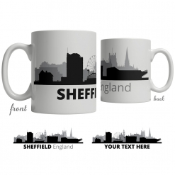 Sheffield Skyline Coffee Mug
