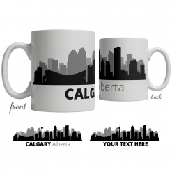 Calgary Skyline Coffee Mug