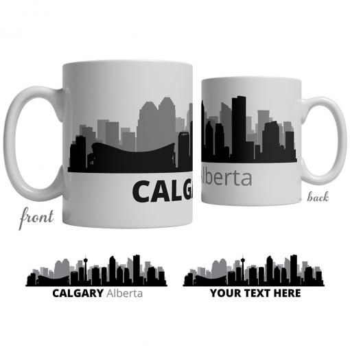Calgary Skyline Coffee Mug