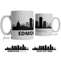 Edmonton Skyline Coffee Mug